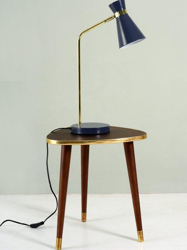 Vintage blue lamp